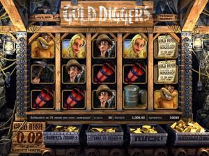 автоматы gold diggers